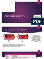 Anticoagulación