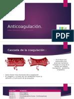 Anticoagulación