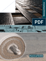 Brochure in Geosynthetics