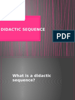 Didactic Sequence Clase