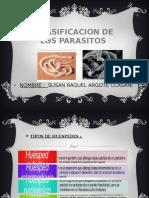Clasificacion de Los Parasitos (Dc Ariel)