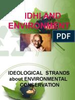 Gandhi and Environment