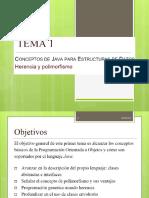 Tema 1 Conceptos de Java Para Estructuras de Datos