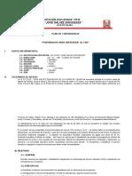 Plan de Contingencia Fen- i.e.15510 Jge 2016