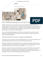 Why Disfellowshipping is a Loving Provision _ Study