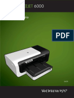 Manual HP Officejet 6000