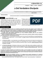 HCV Las Pruebas Del Verdadero Discipulo 25 SEPT 16