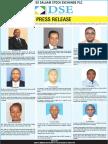 DSE New Board Members 2016
