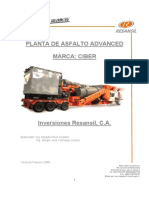 Planta de Asfalto Advanced