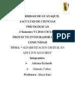 PROYECTO INTEGRADOR DE SABERES  COMPUTACIÓN[1]
