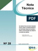 Impactos PEC 241