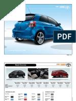 Toyota Yaris Brochure