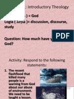 Intro - God is Love