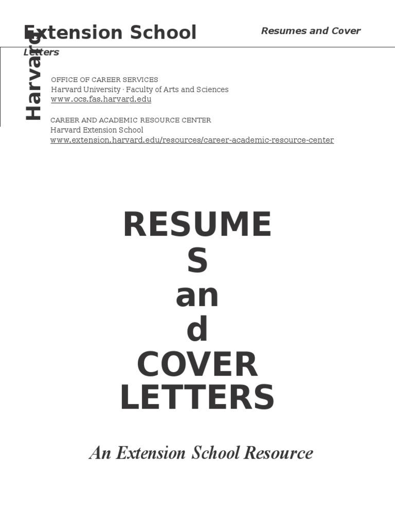 harvard ocs cover letter