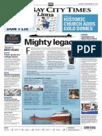 Best Newspaper Design Bay City November 8, 2016 Edition