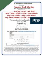 Invitation - 9 28 16 - Martins Reception