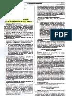 Ley 30222 Modificación de La Ley de Seguridad y Salud en El Trabajo