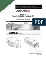 Autocad 2000 3d Modelando Uma Casa (1)