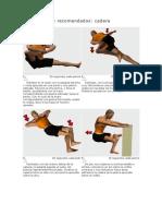 Estiramientos recomendados cadera
