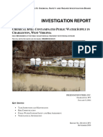 U.S. Chemical Safety Board Report