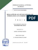 DESALACIÓN DE AGUA DE MAR APOYADA CON ENERGÍA EÓLICA EN GUERRERO NEGRO