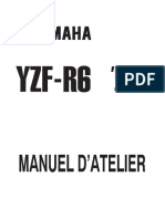 Yamaha R6 99 Service Manual