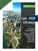 Ciudades sostenibles