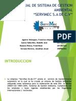 Manual de Sistema de Gestion Ambiental (1) Presentacion}
