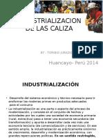 Industrializacion de Las Caliza