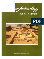 Indian Archaeology 1994-95 a Review