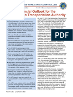 DiNapoli MTA report