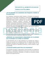Preguntas Frecuentes Al Momento de Buscar Trabajo en Colombia - Notilogía