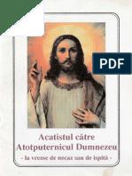 Acatistul Catre Atotputernicul Dumnezeu
