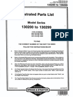 Briggs & Stratton Engine Specifications 130200-Ms5530-0483