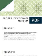 Identifikasi Morfem