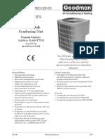 Goodman CKF Series Air Conditioner (50 Hz)