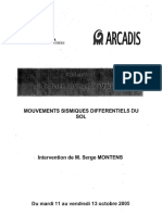 6-Mouvements Sismiques Differentiels Du Sol