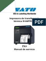Curso Reparacion Impresoras - Manual Termica Sato - Sept. 28 de 2.016