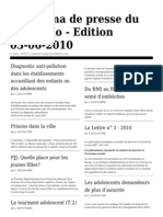 Panorama Web 100603