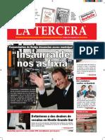 Diario La Tercera 28.09.2016