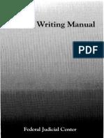 Judicial Writing