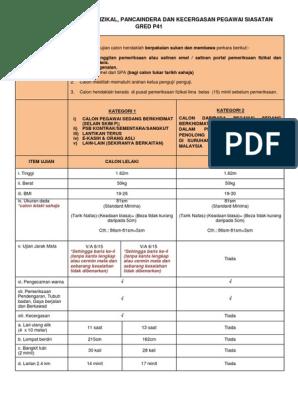 Panduan Pemeriksaan Fizikal Pancaindera Kecergasan P41