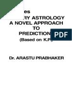Jyotish KP the Times Horary Astrology Prabhakar (1)