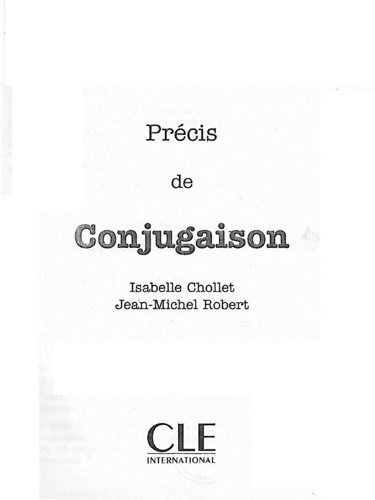 Precis De Conjugaison Clause Verbe