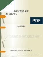 Fundamentos de Almacen