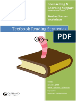 Textbook Reading Strategies