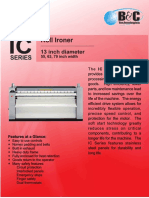 IC-13 Commercial Flatwork Ironer