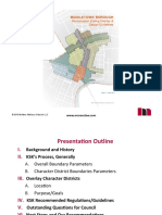 Presentation on proposed downtown overlay by Middletown borough solicitor