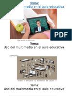 Multimedia EducativoPresentación Percy