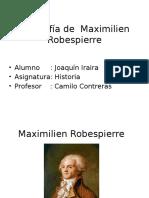 Biografia de Maximilien Robespierre